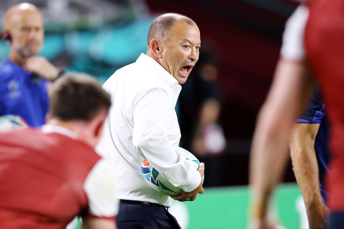 Heading south? Eddie Jones 'covets' coaching Sydney NRL club