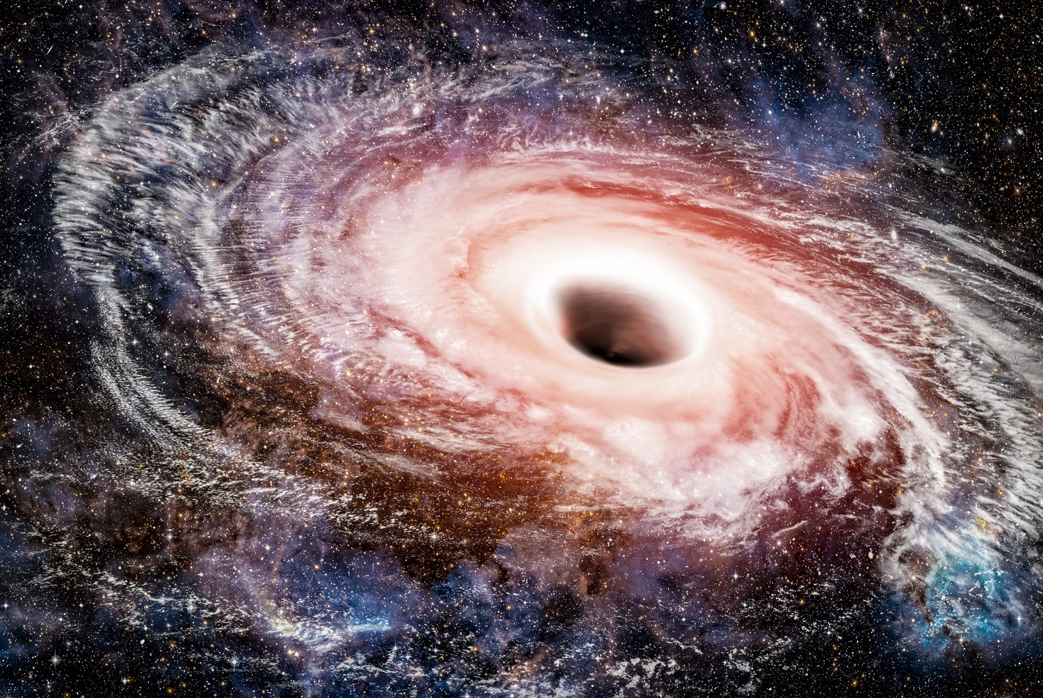 Scientists discover 'impossible' black hole too big to exist
