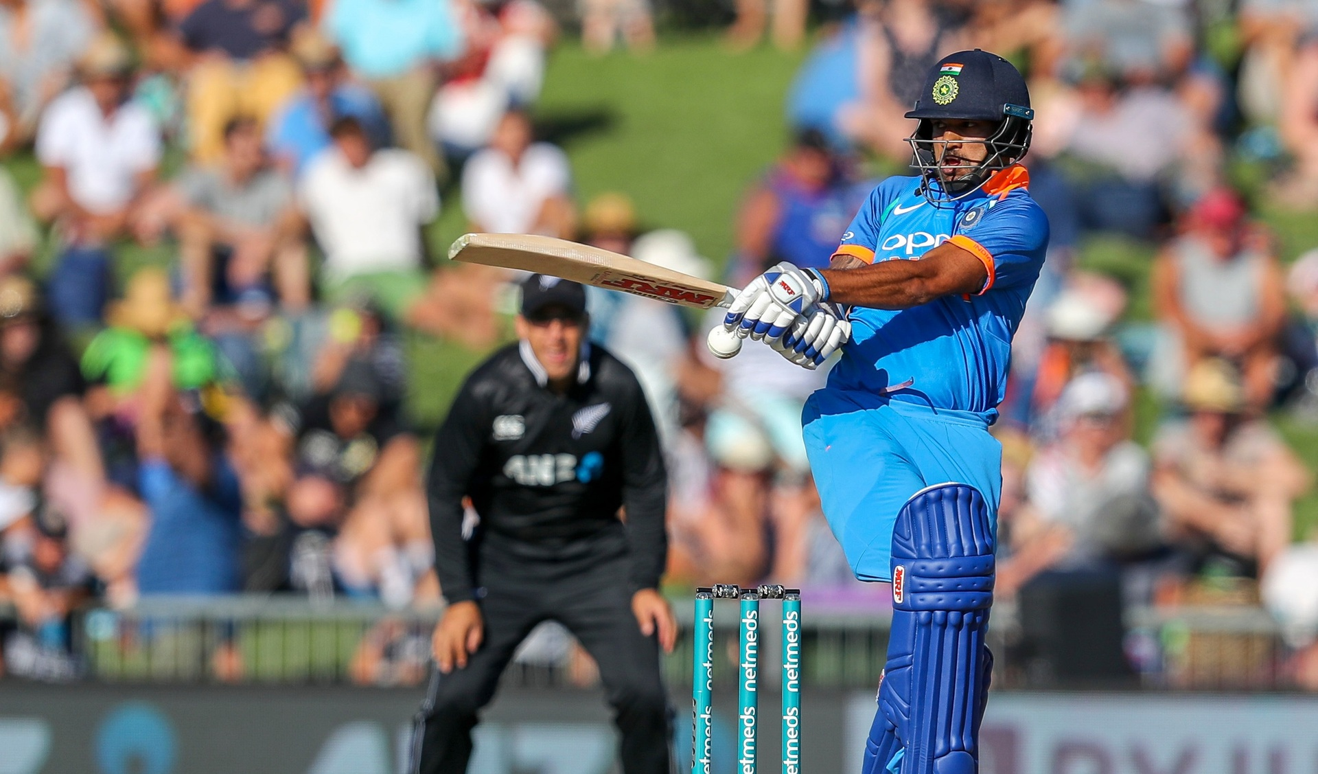75edebe3feb As it happened  India smash Black Caps in first cricket ODI - NZ Herald