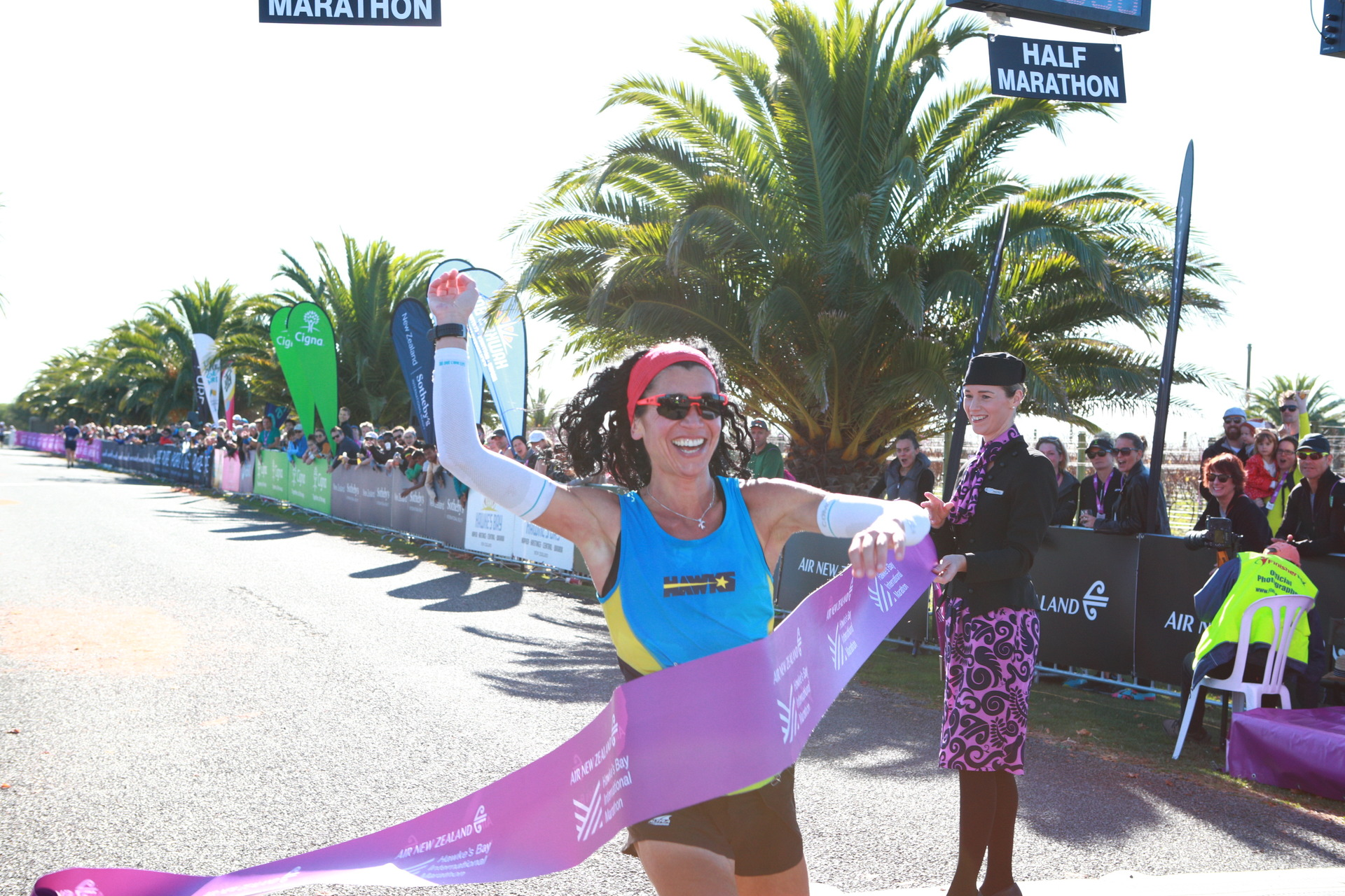 Marathon: Cecilia Flori makes training run look academic after clinching the Hawke's Bay crown