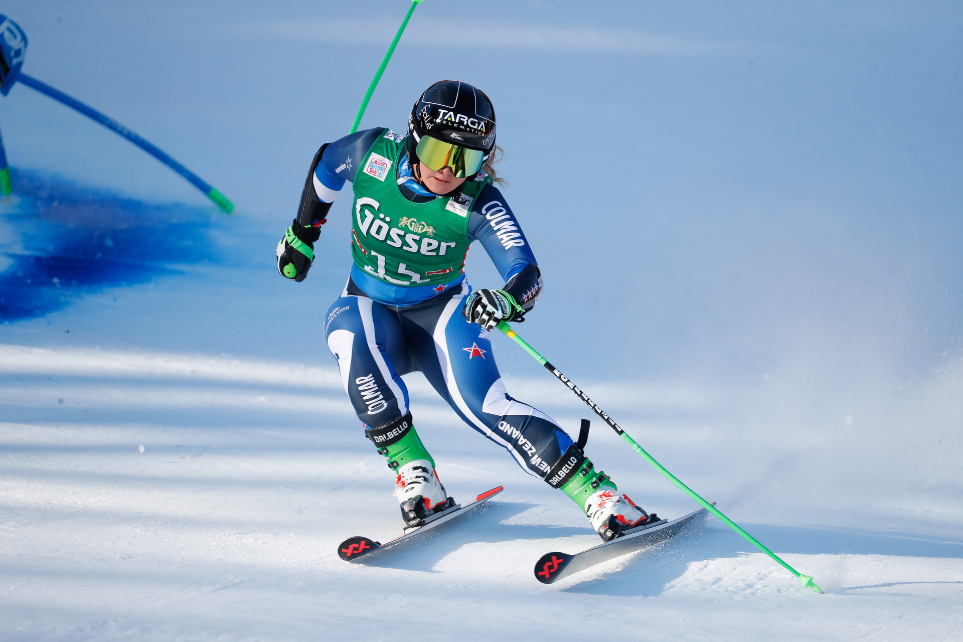 Alice Robinson finishes fifth in World Cup Giant Slalom