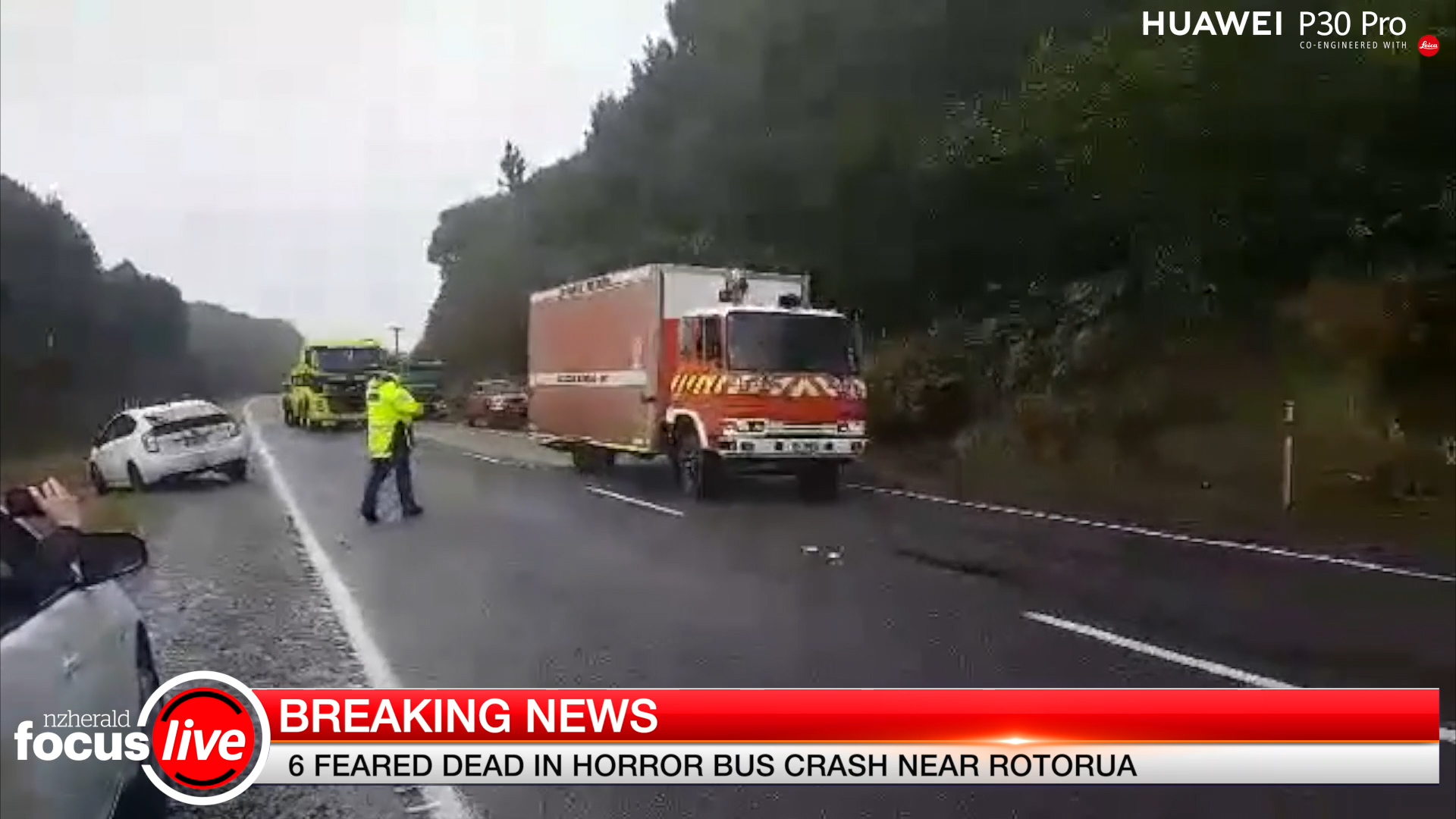 Focus Live Earlier: Five dead in horror crash near Rotorua