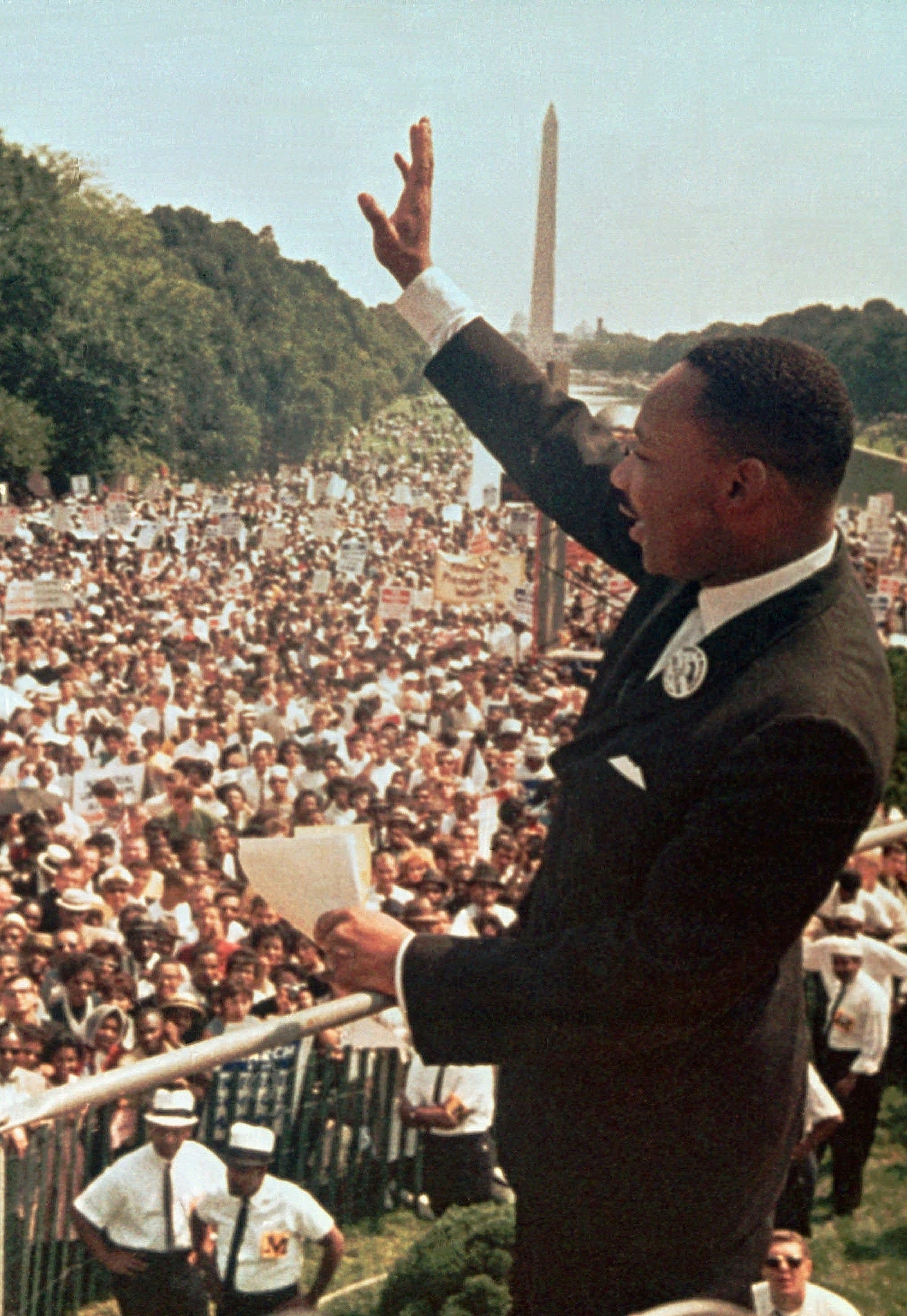 why is martin luther king a famous political figure