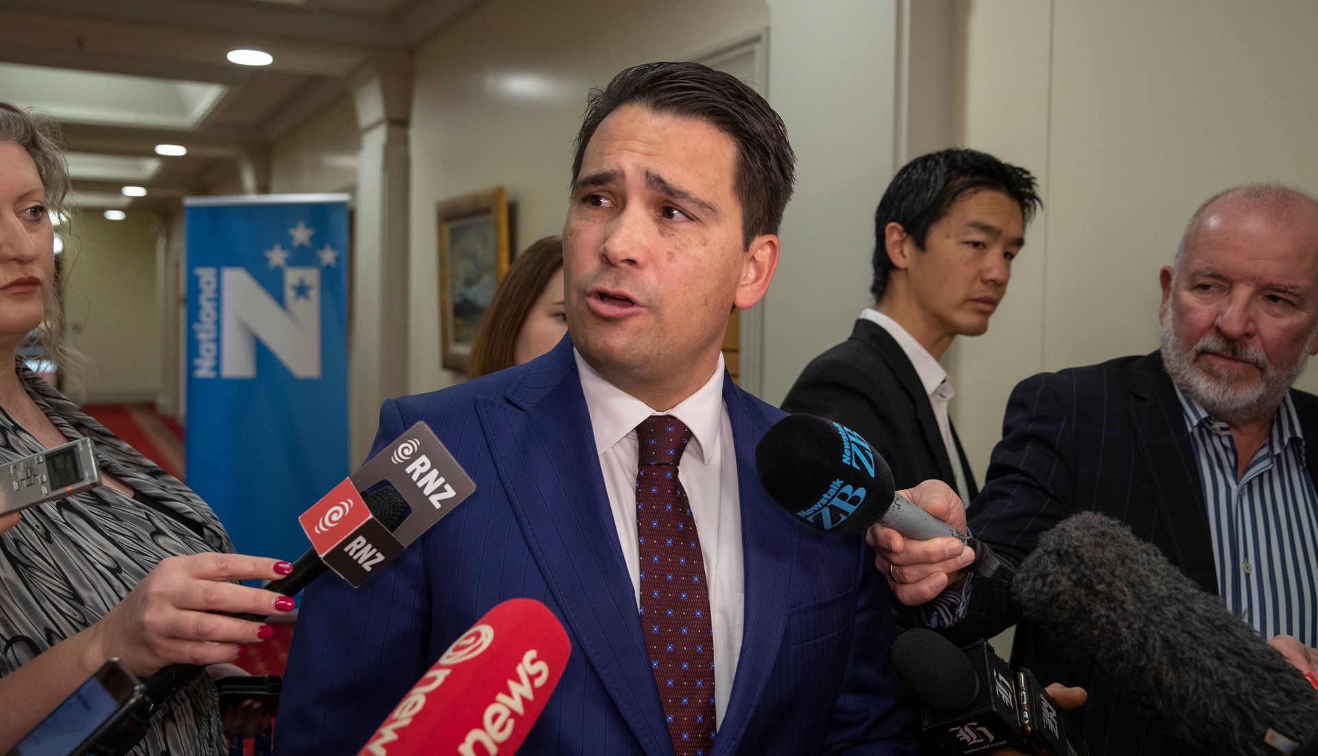 Simon Bridges' phone call with Air NZ boss and possible National candidate Christopher Luxon