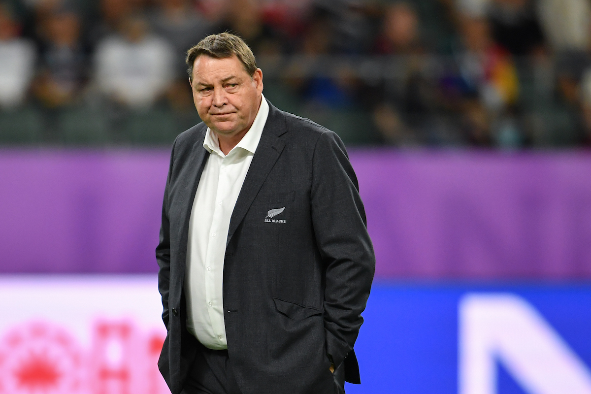 'Haven't seen him like that': Steve Hansen's epic halftime spray