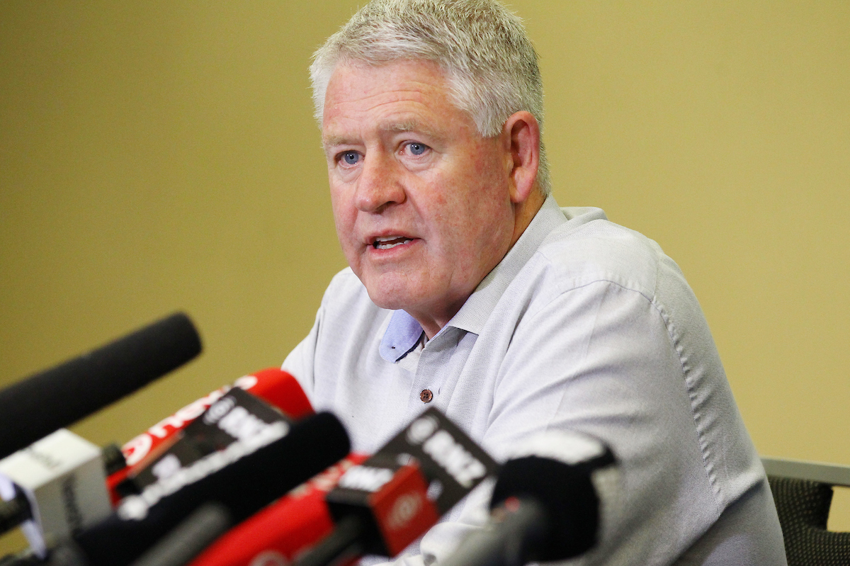 NZ Rugby boss Steve Tew admits clock is ticking for Nations Championship