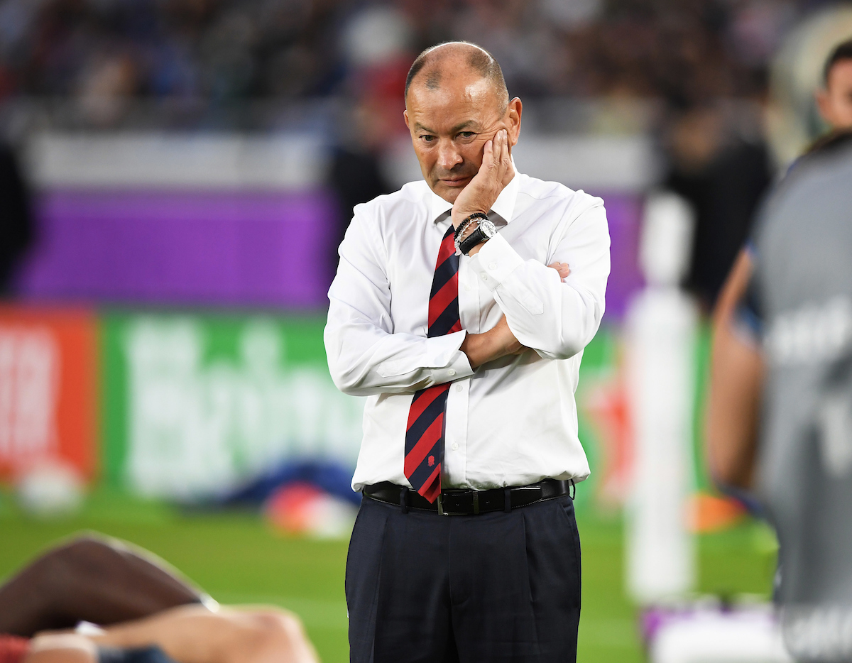 Eddie Jones reveals the decision that left him in tears