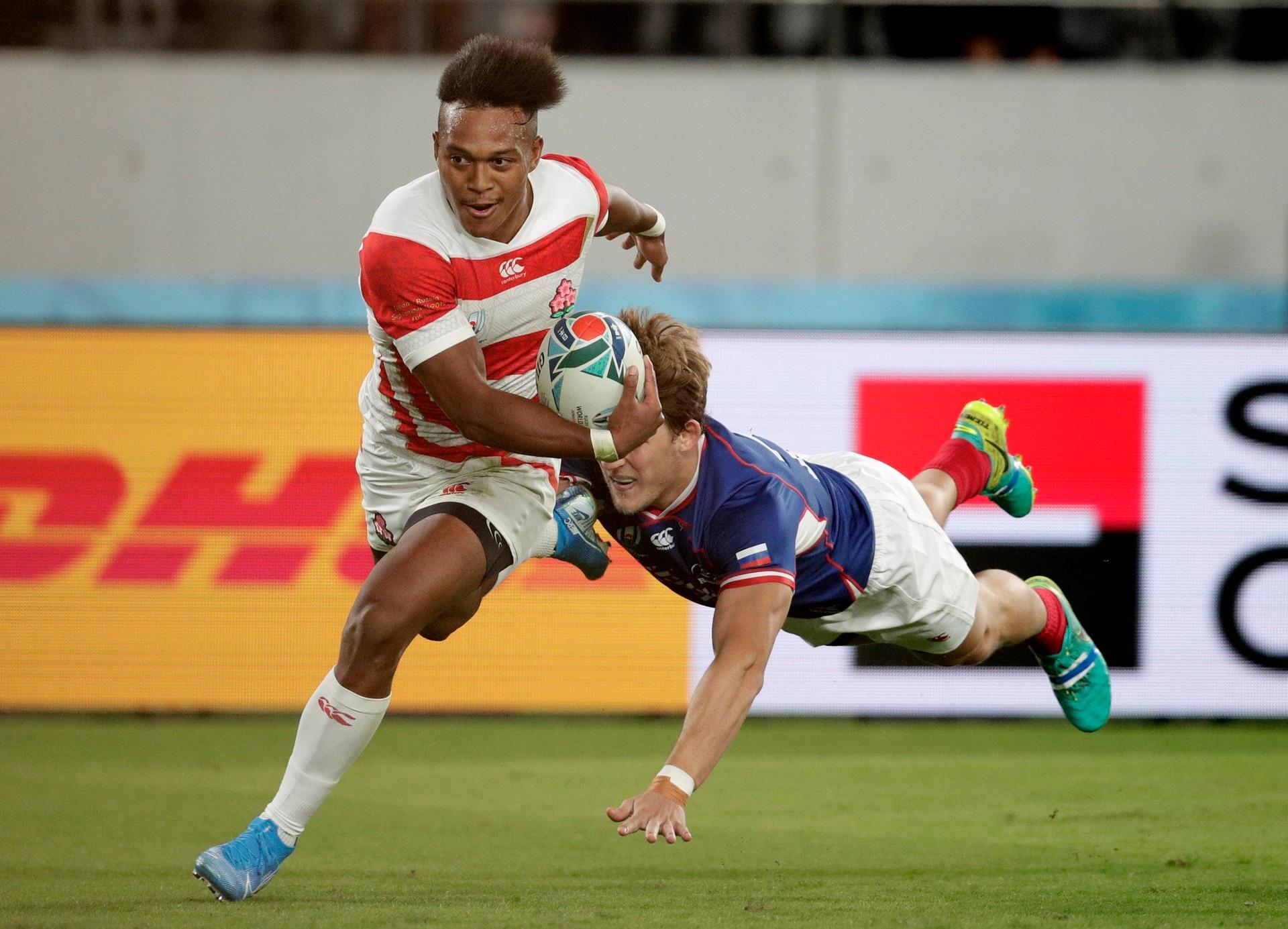 We're underway! Hat-trick hero saves Japan in Rugby World Cup opener