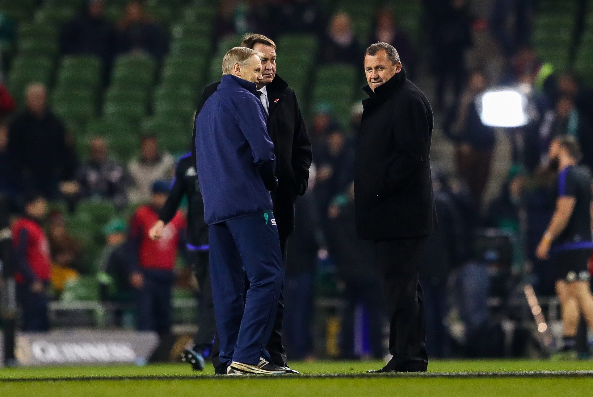 Rugby: All Blacks approached Ireland coach Joe Schmidt over role last year