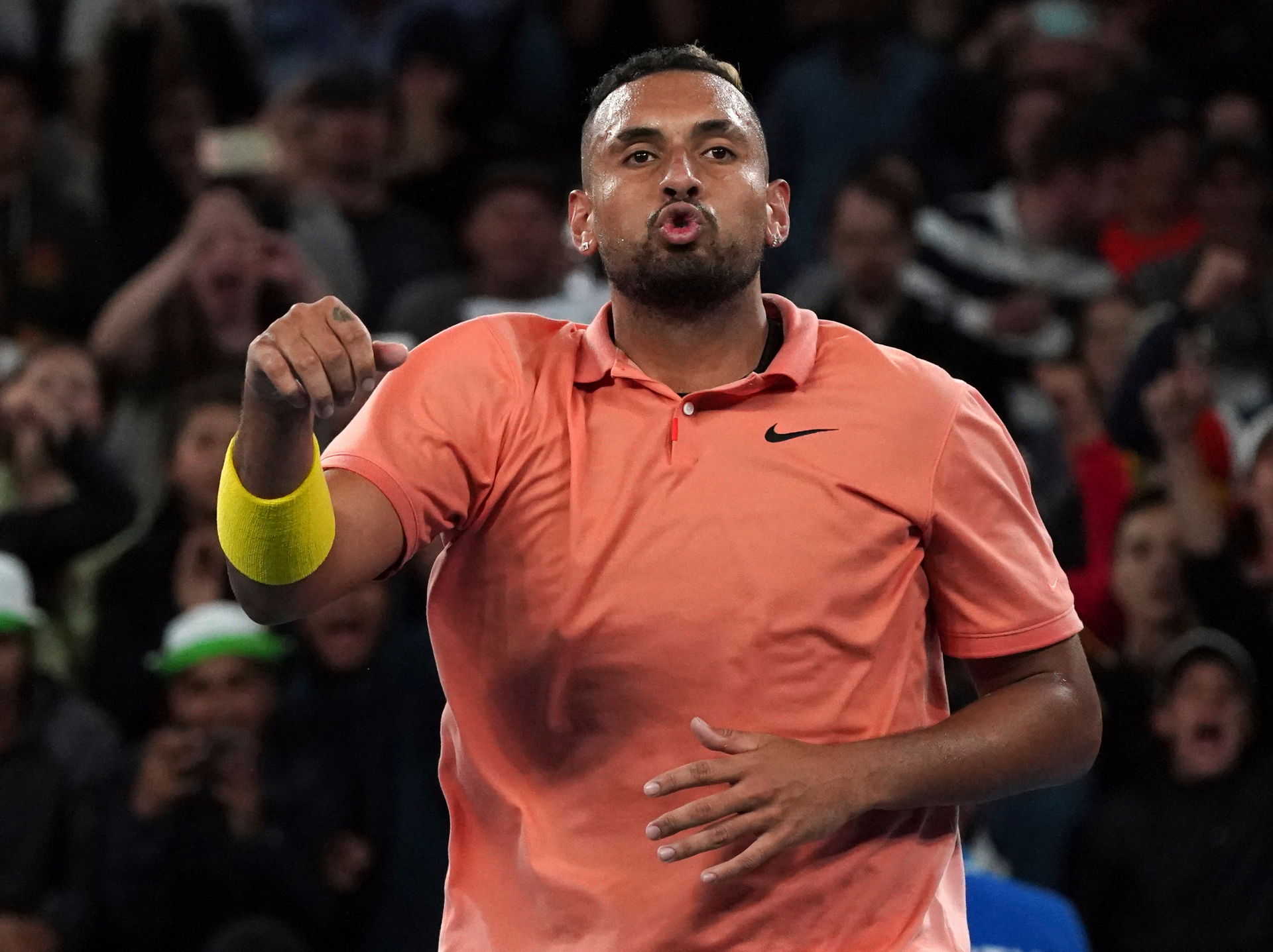 Aus Open: Nadal responds to salty Kyrgios dig