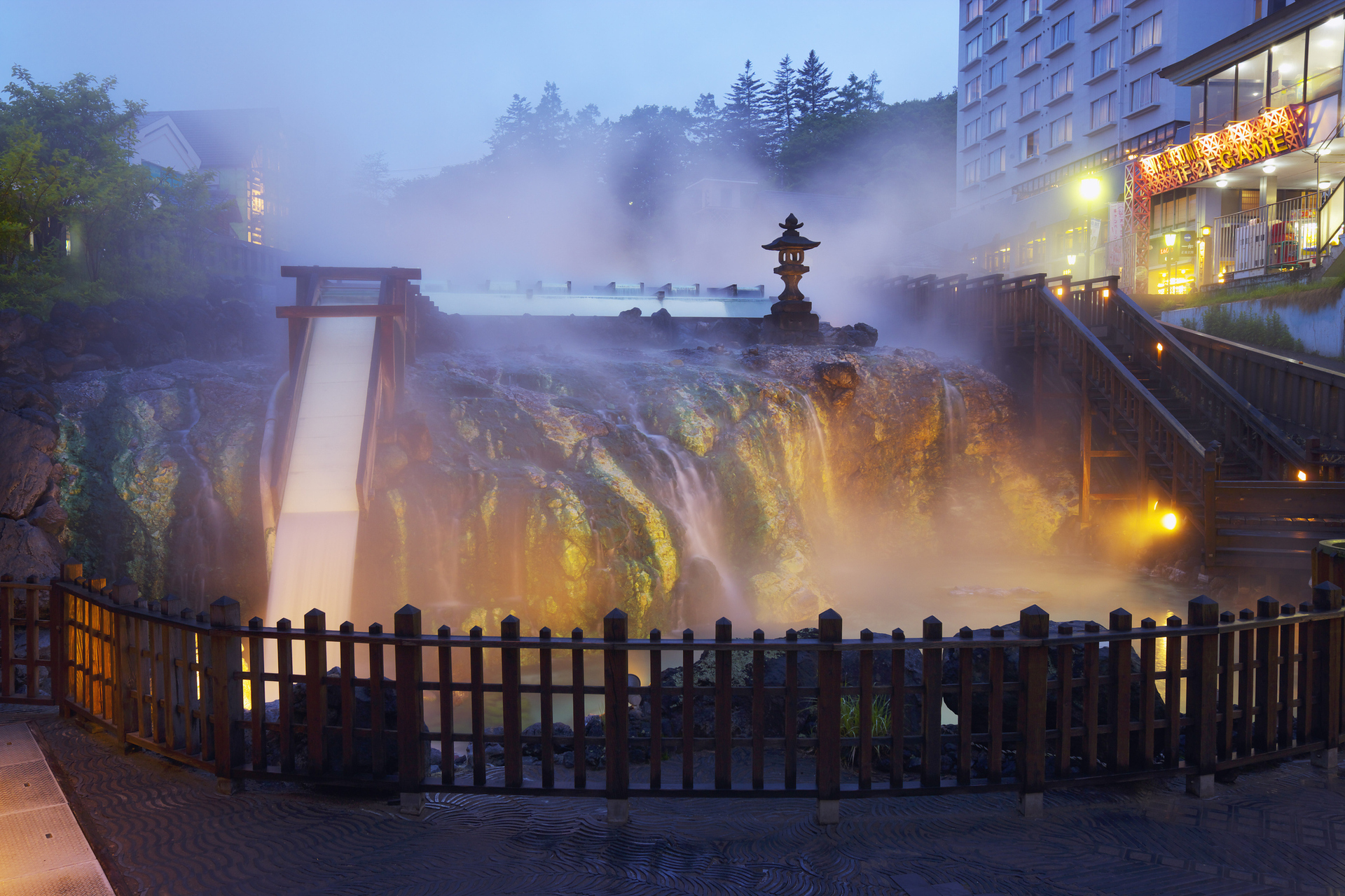Escape Tokyo heat for Kusatsu's calming Japanese waters