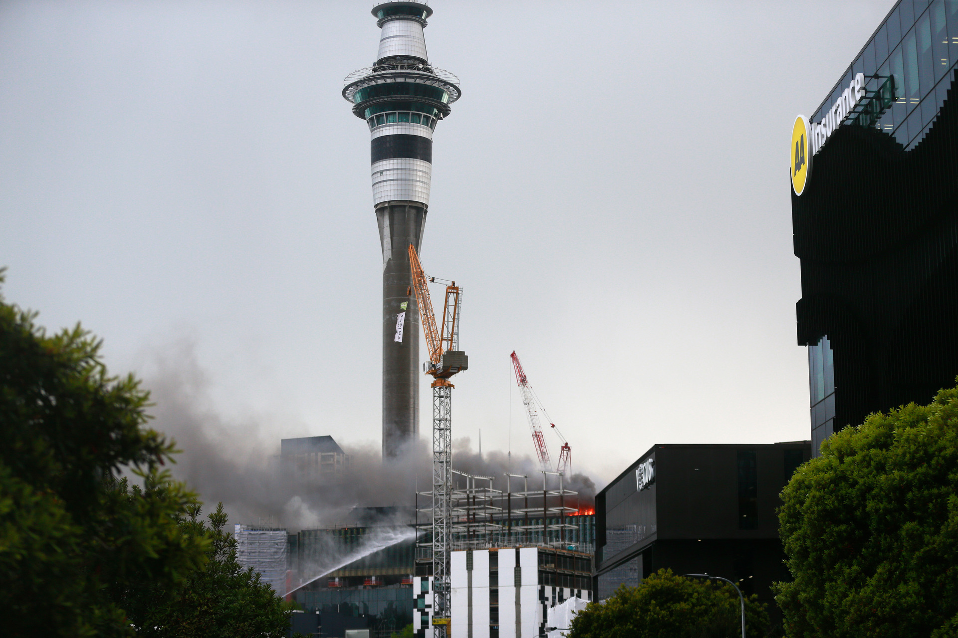 'I was outraged': SkyCity staff told to use annual leave after fire
