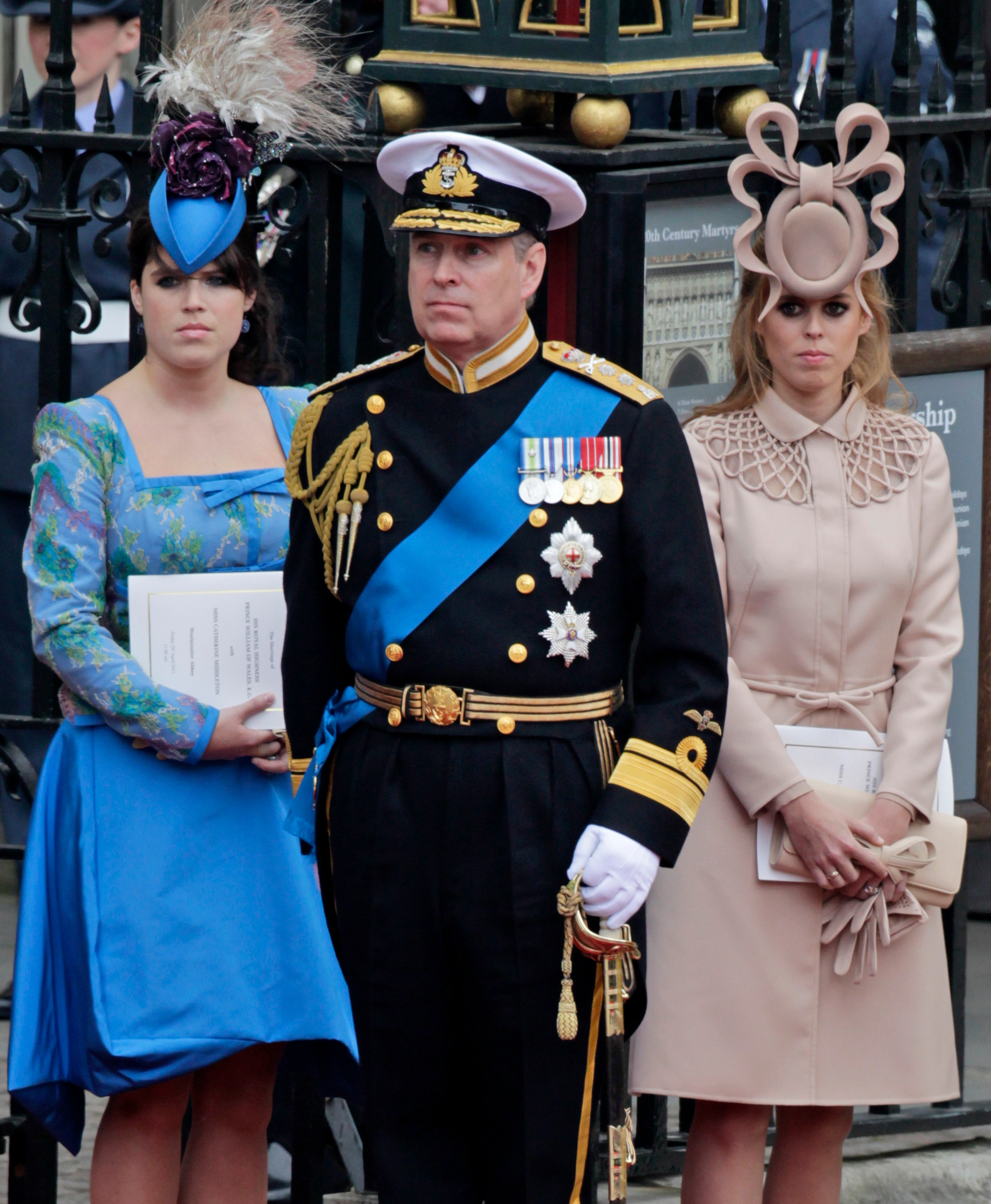 Prince Andrew accuser's message to Princesses Beatrice and Eugenie