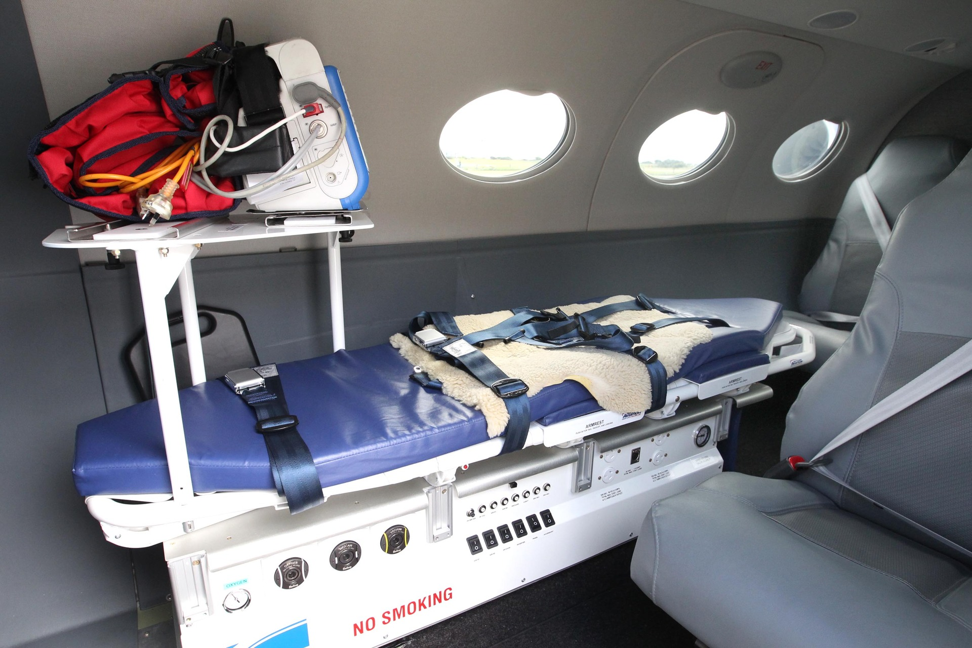 Charges laid after patient fell from stretcher during air ambulance transfer in Hawke's Bay