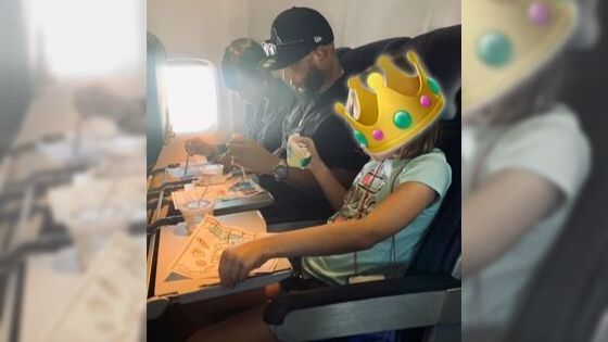 Couple's heartwarming act for girl travelling by herself