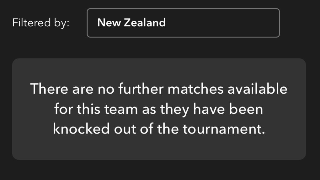 Spark Sport glitch knocks All Blacks out of World Cup