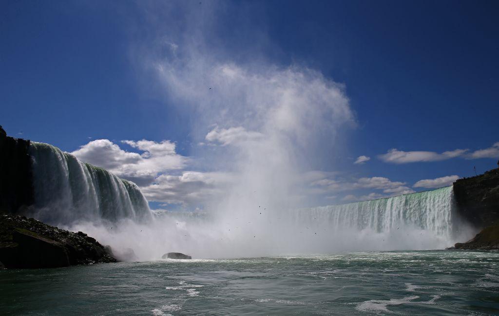 Man survives falling around 57m over Niagara Falls with no life-threatening injuries