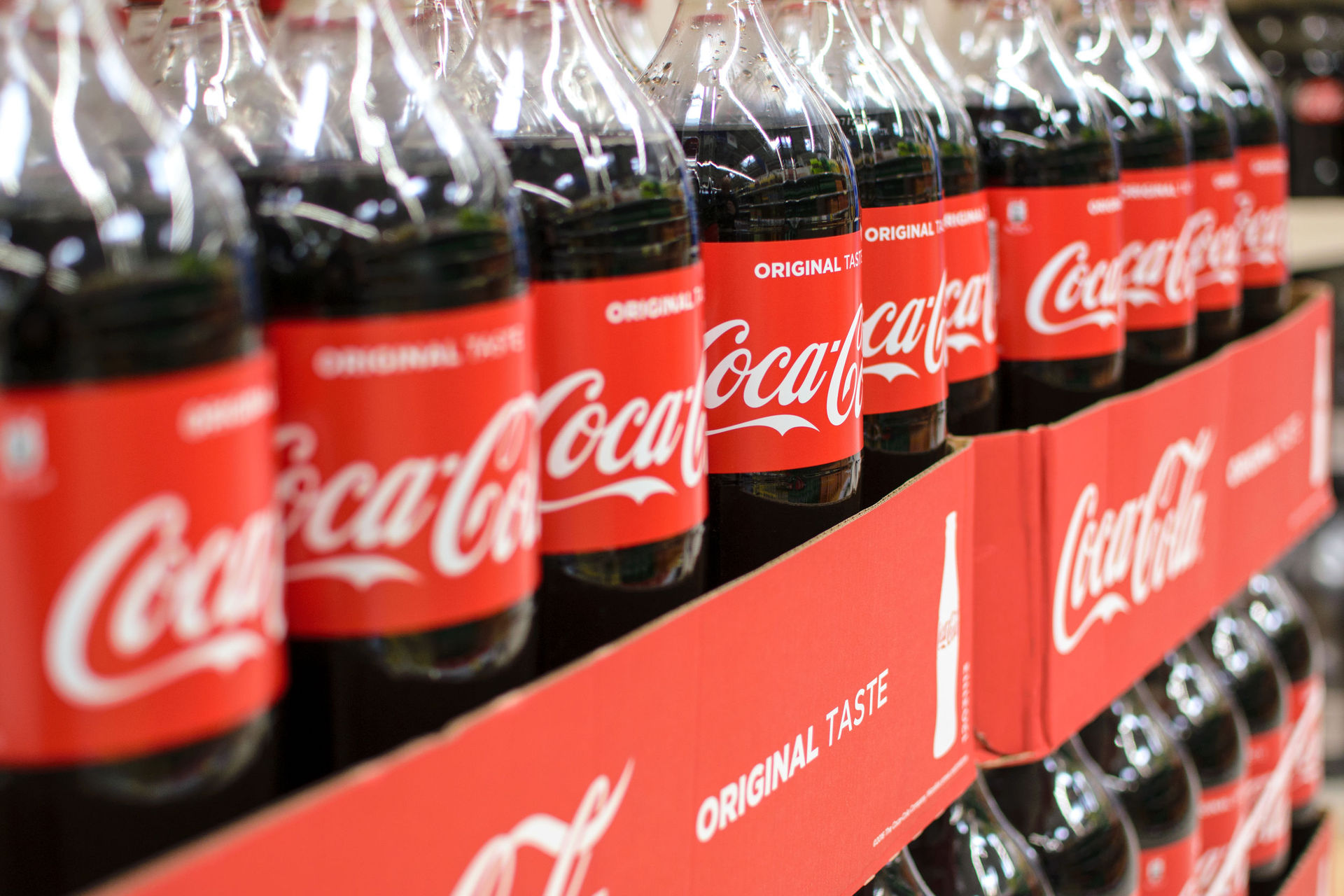 Coca-Cola leads way in using recycled plastic for all bottles smaller than 1 litre