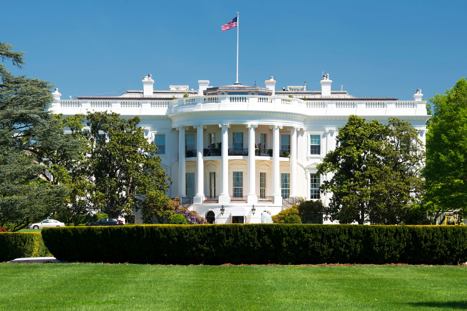 Mystery of the 'slow-moving blob' that put the White House in lockdown
