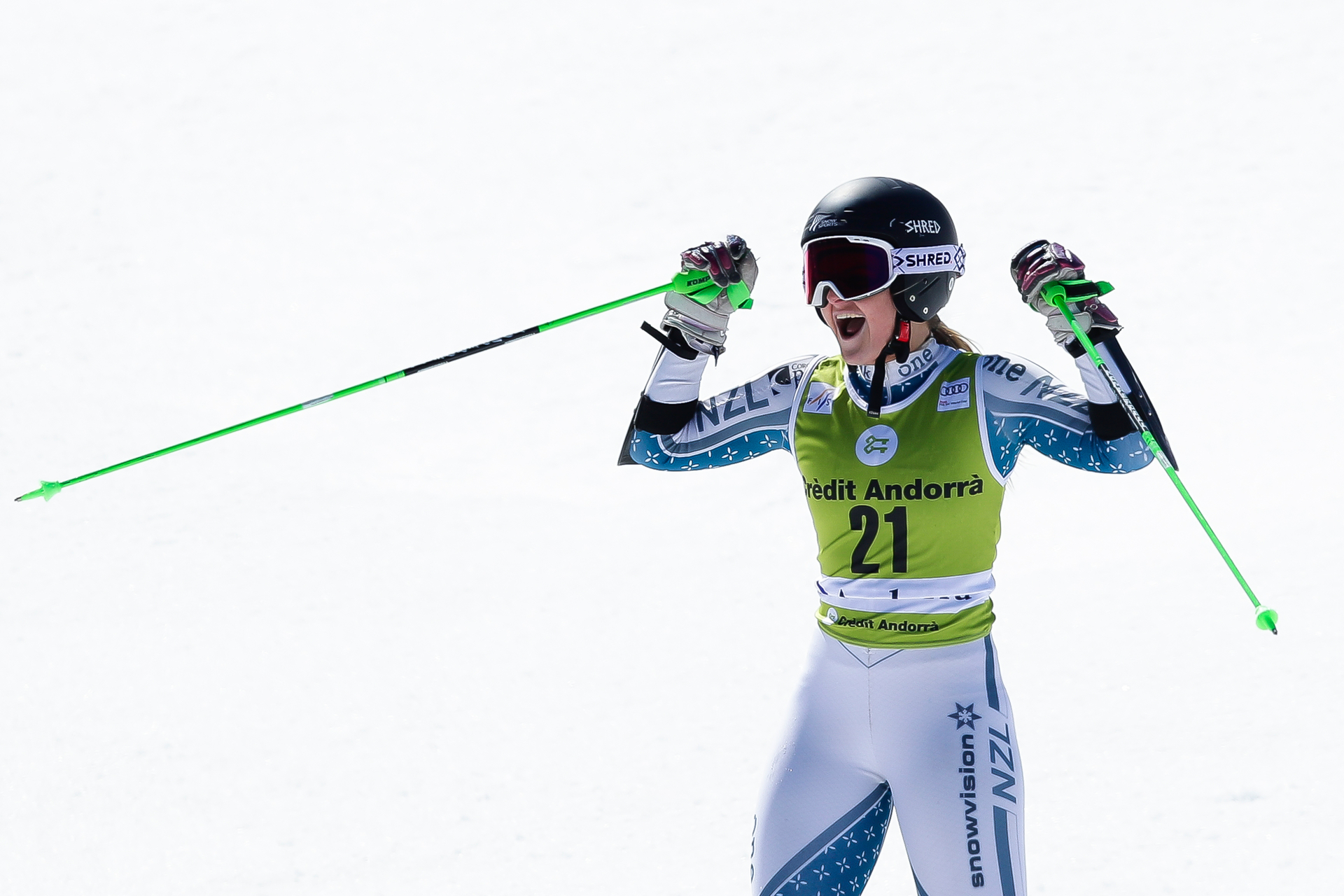 Skiing: Kiwi Alice Robinson produces stunning second at World Cup finals