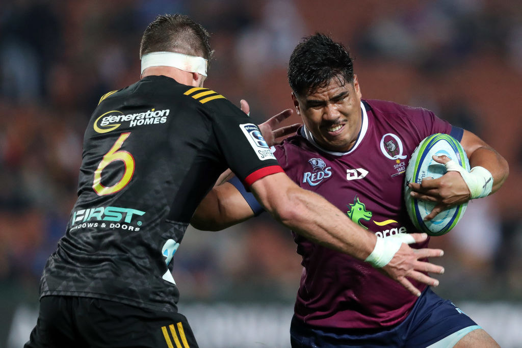 Super Rugby: Chiefs make 240 tackles as they hold off Reds