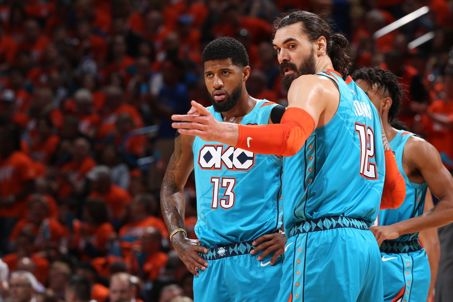 Christopher Reive: Steven Adams is doing what he's paid for, and becoming the Oklahoma City Thunder's scapegoat in the process