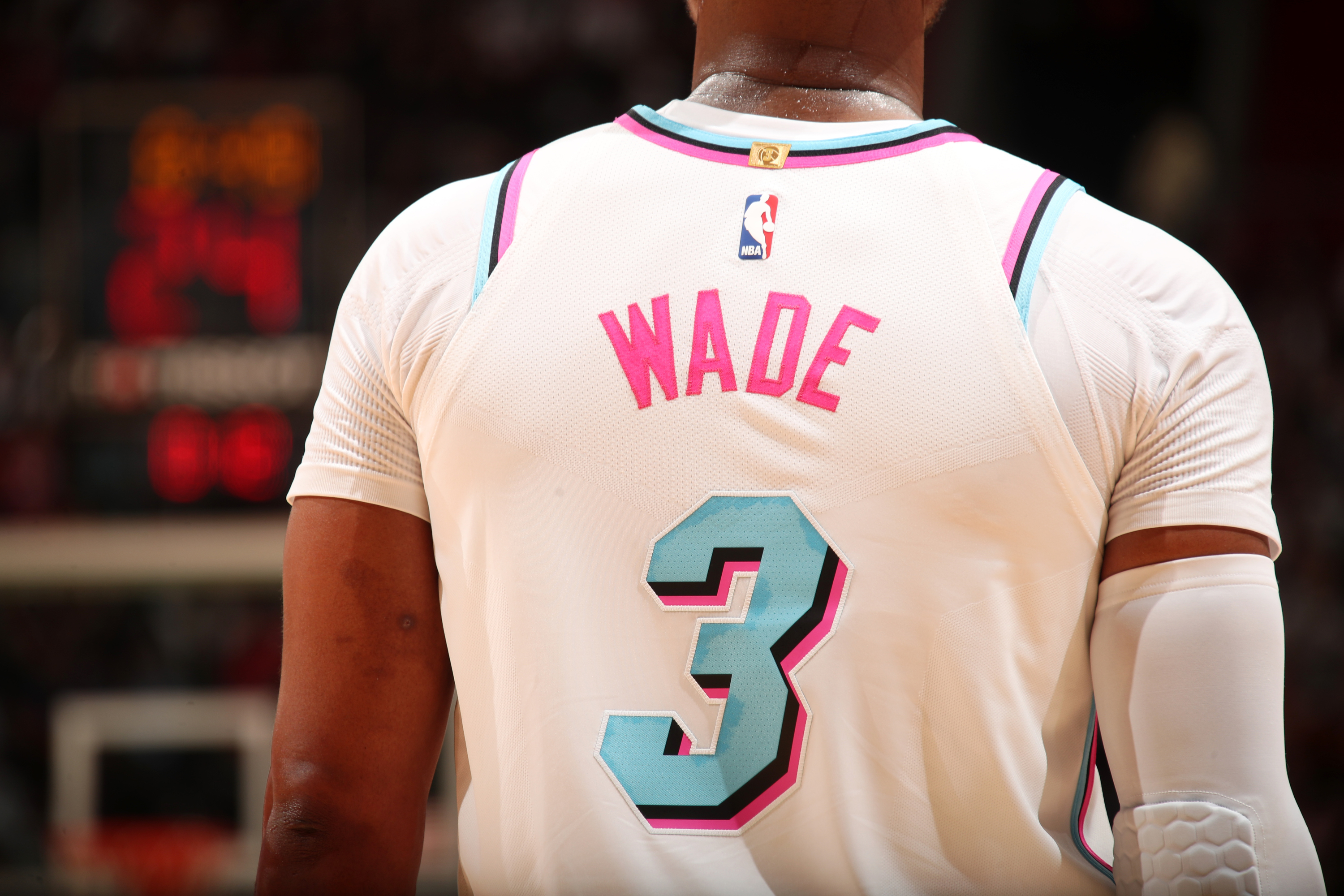 4ec5402e0 NBA  Stocks run out for Dwayne Wade s  Miami Vice  jersey following his  return