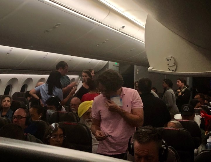 Auckland to LAX American Airlines flight diverted to Honolulu due to medical event