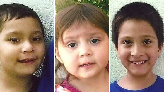 US mother in custody after kidnapping children
