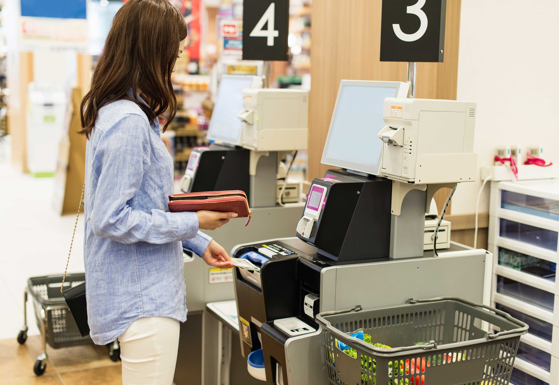 How shoplifters justify theft at supermarket self-service