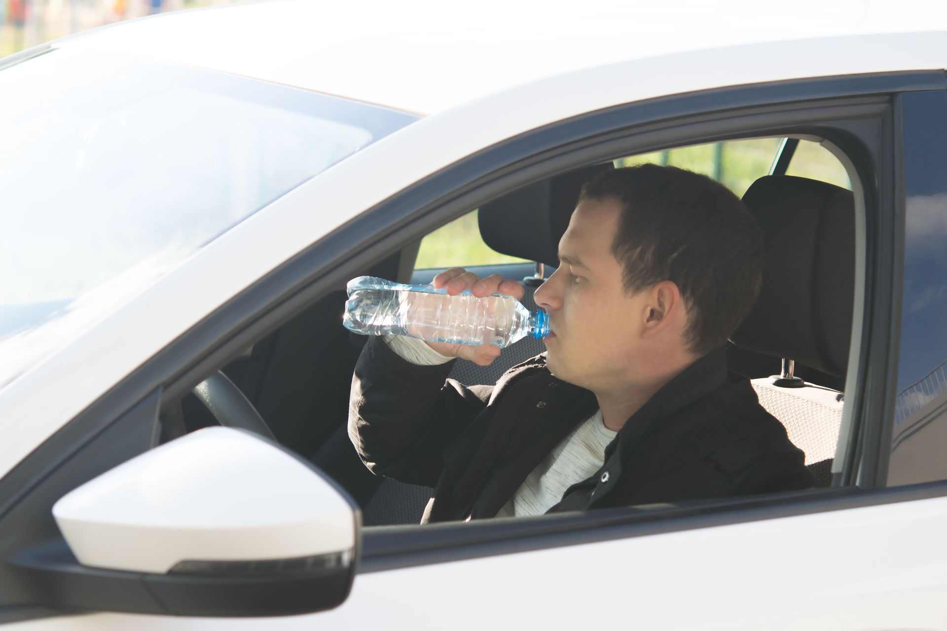 Don't drink (water) and drive: Man 'fined $185'