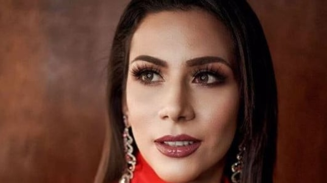 Beauty queen pleading for asylum and trapped in airport for two weeks