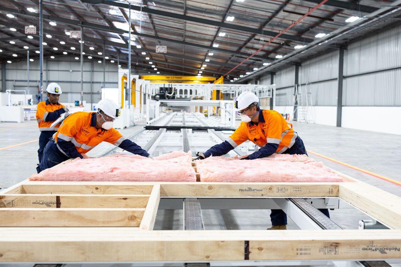 A house in six weeks: Inside Fletcher's new mega factory