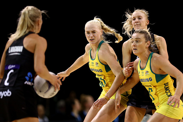 'Disgrace': Aussie media and fans fume at umpires after Silver Ferns' stunner