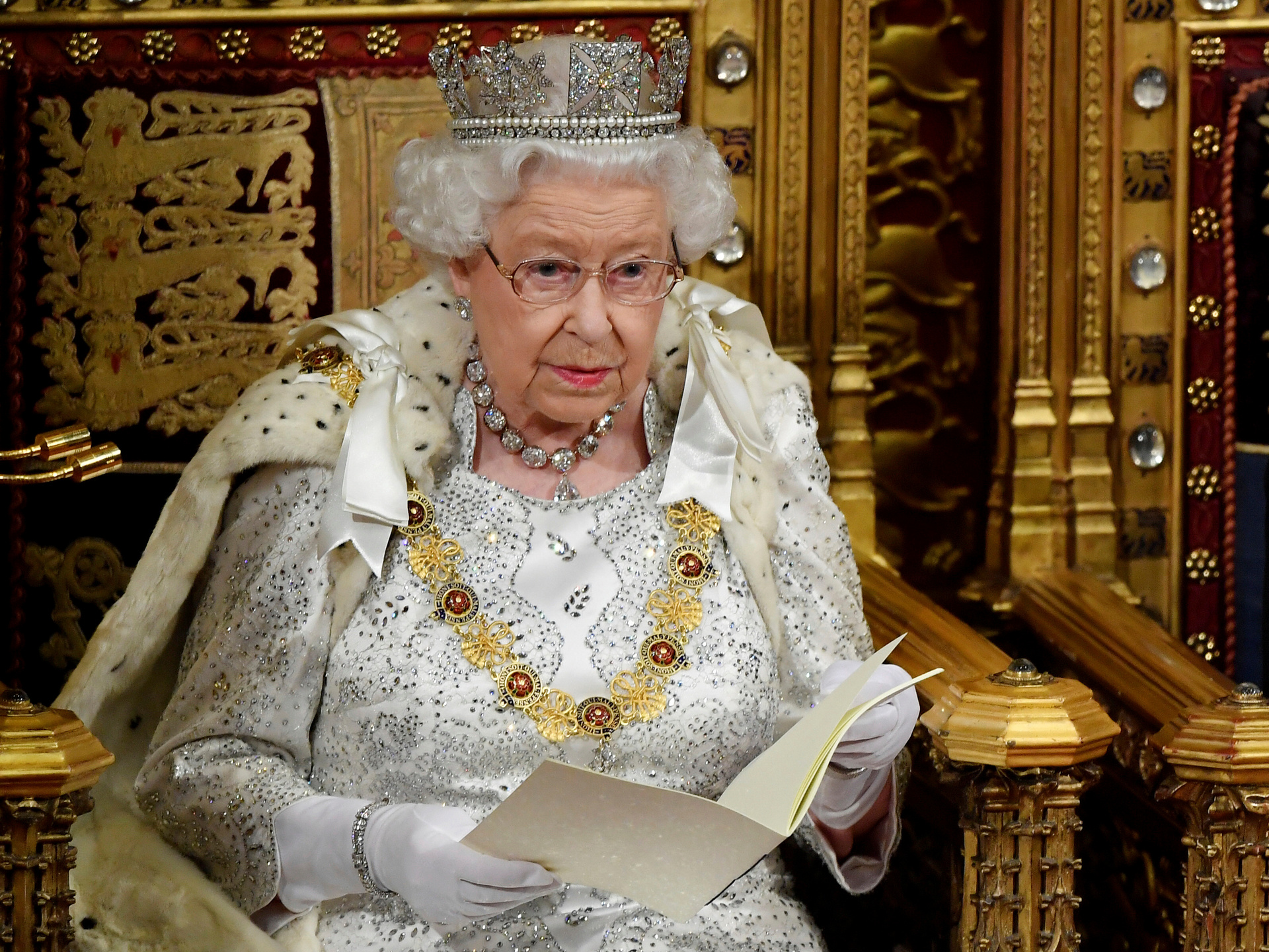 Why the Queen broke her own key tradition