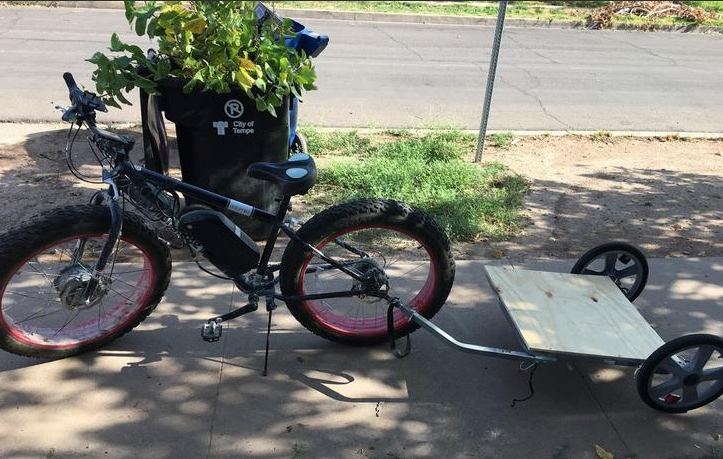 Kiwis on a mission to find electric bike stolen at Burning Man that ended up in New Zealand