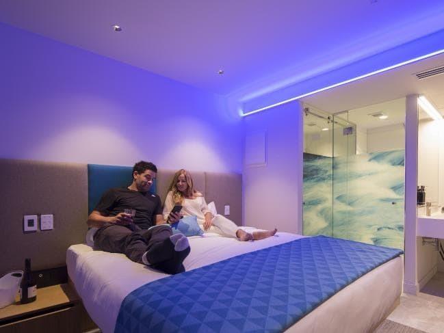 Inside New Zealand's first 'smart hotel', which has no minibar fridge or room keys