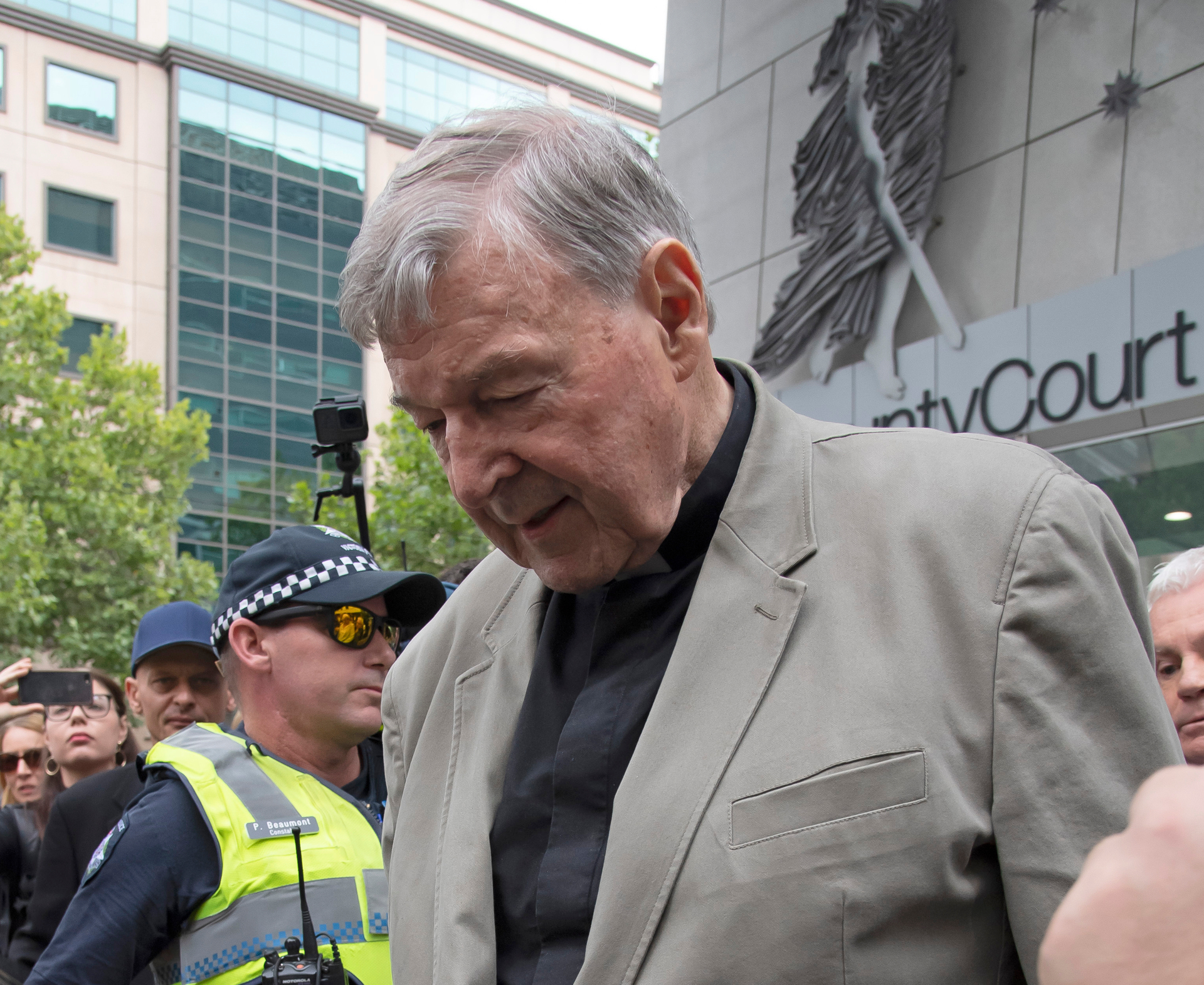 George Pell convictions deal new blow to Catholic church - NZ Herald