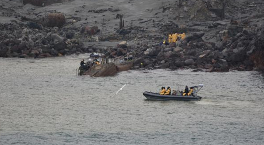 White Island recovery: Police release new images of 'harrowing' search