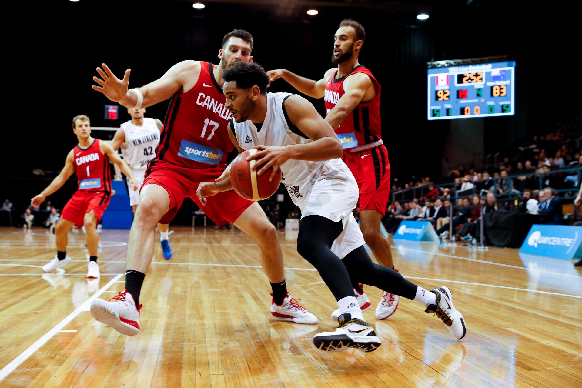 Basketball: Tall Blacks pipped in overtime thriller against Canada