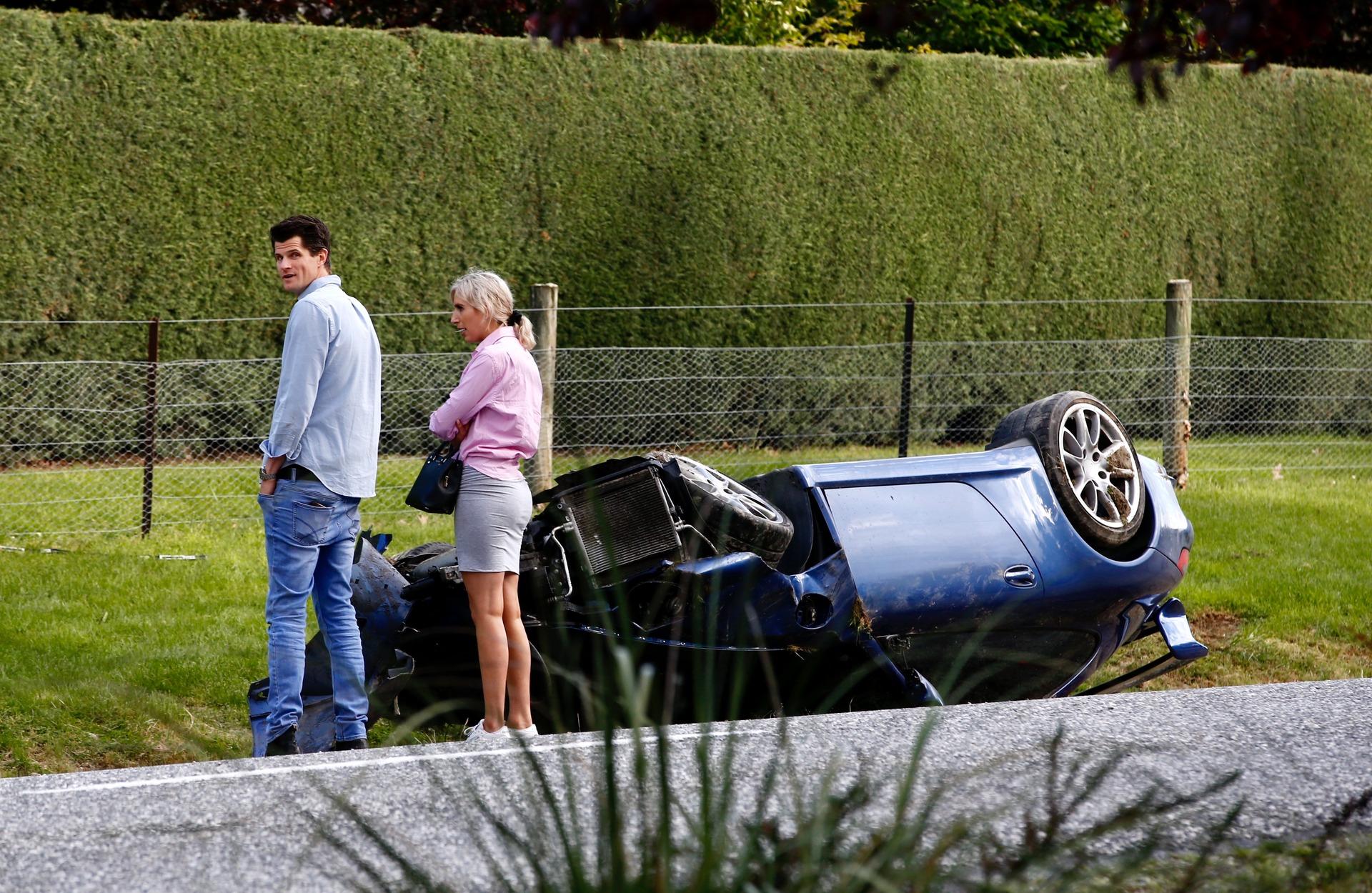 'I wasn't being stupid': Richlister rolls his Porsche