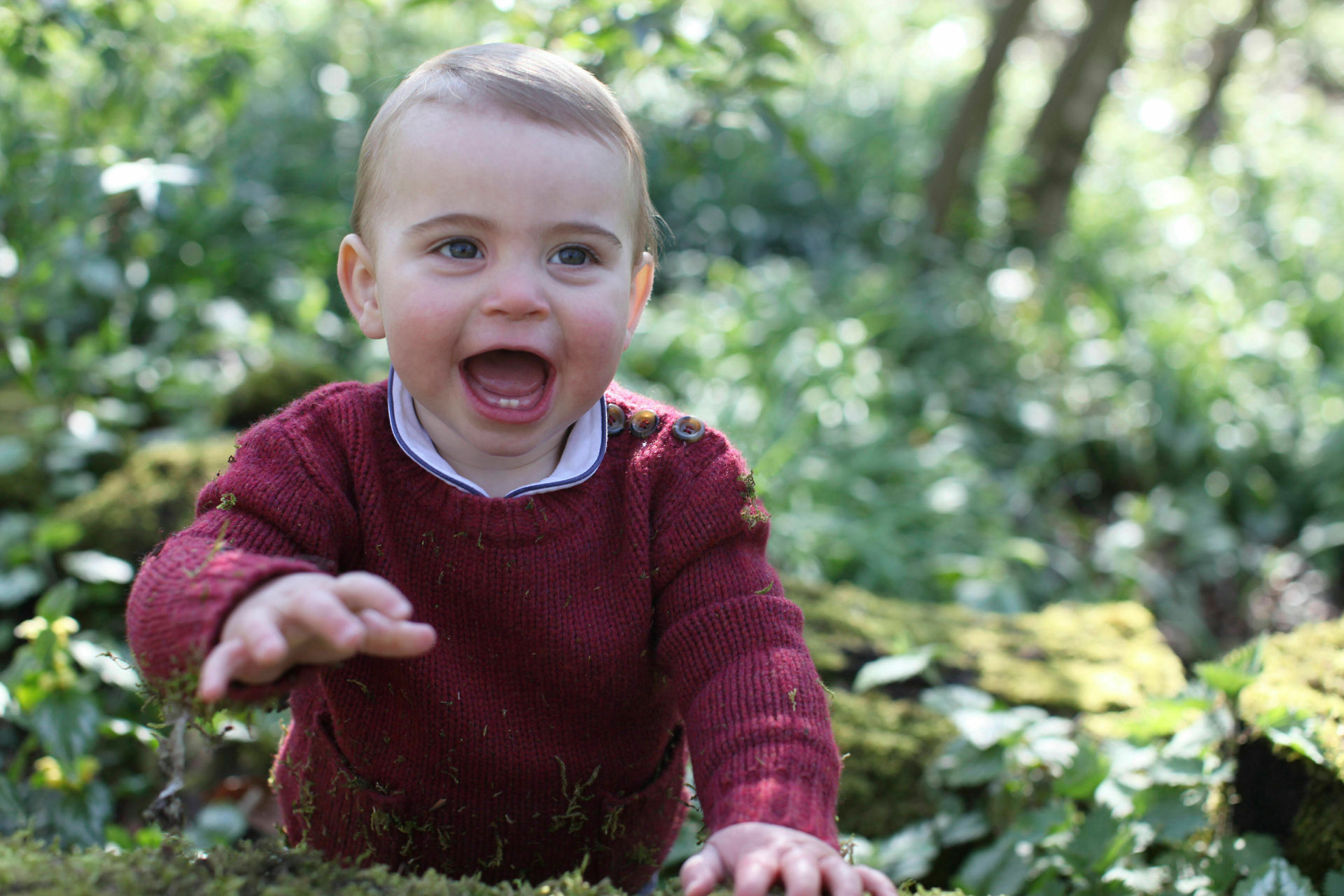 Prince Louis' first birthday: New photos taken by Duchess of Cambridge