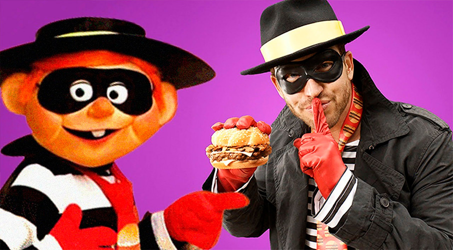 Hamburglar! Robber buys burger in Mcds raid as till wouldn't open without food order