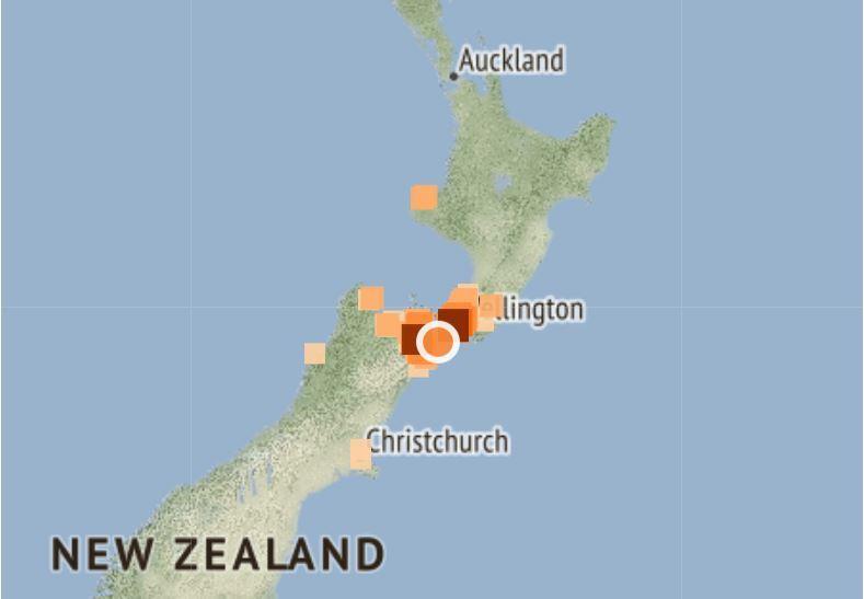 4.6 earthquake felt widely across central NZ
