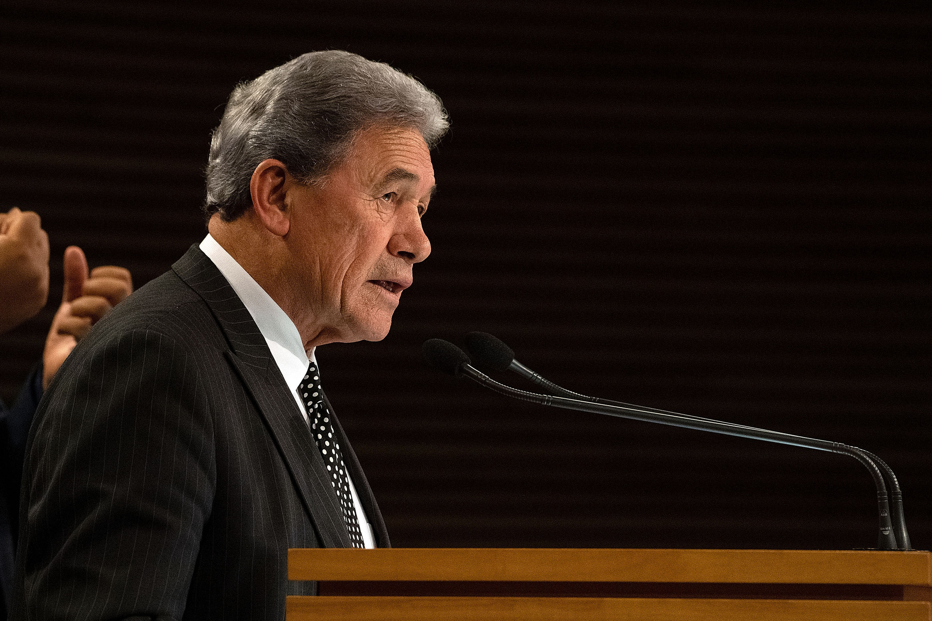 Winston Peters calls Labour turmoil a 'disgraceful orgy of speculation'