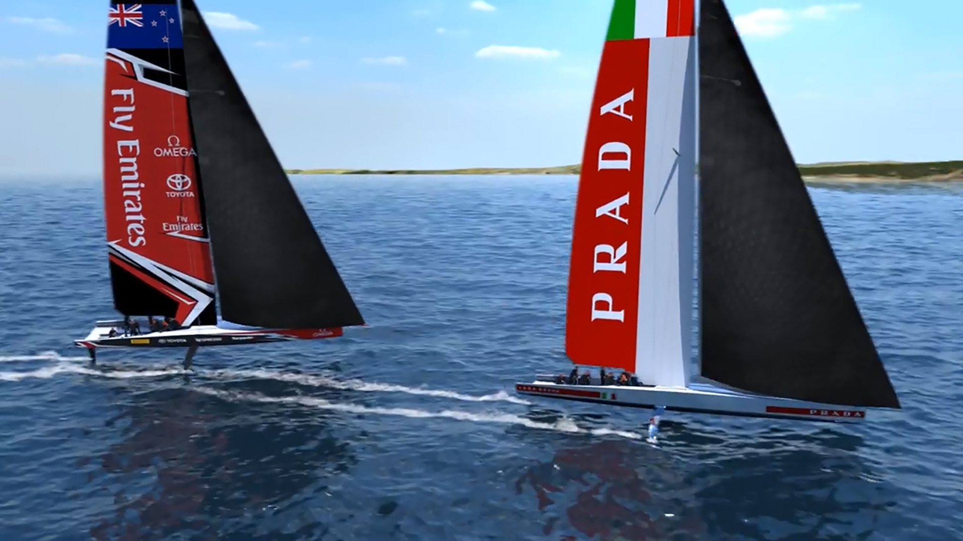 America's Cup: AC75 simulation session an eye-opener for Luna Rossa's Jimmy Spithill