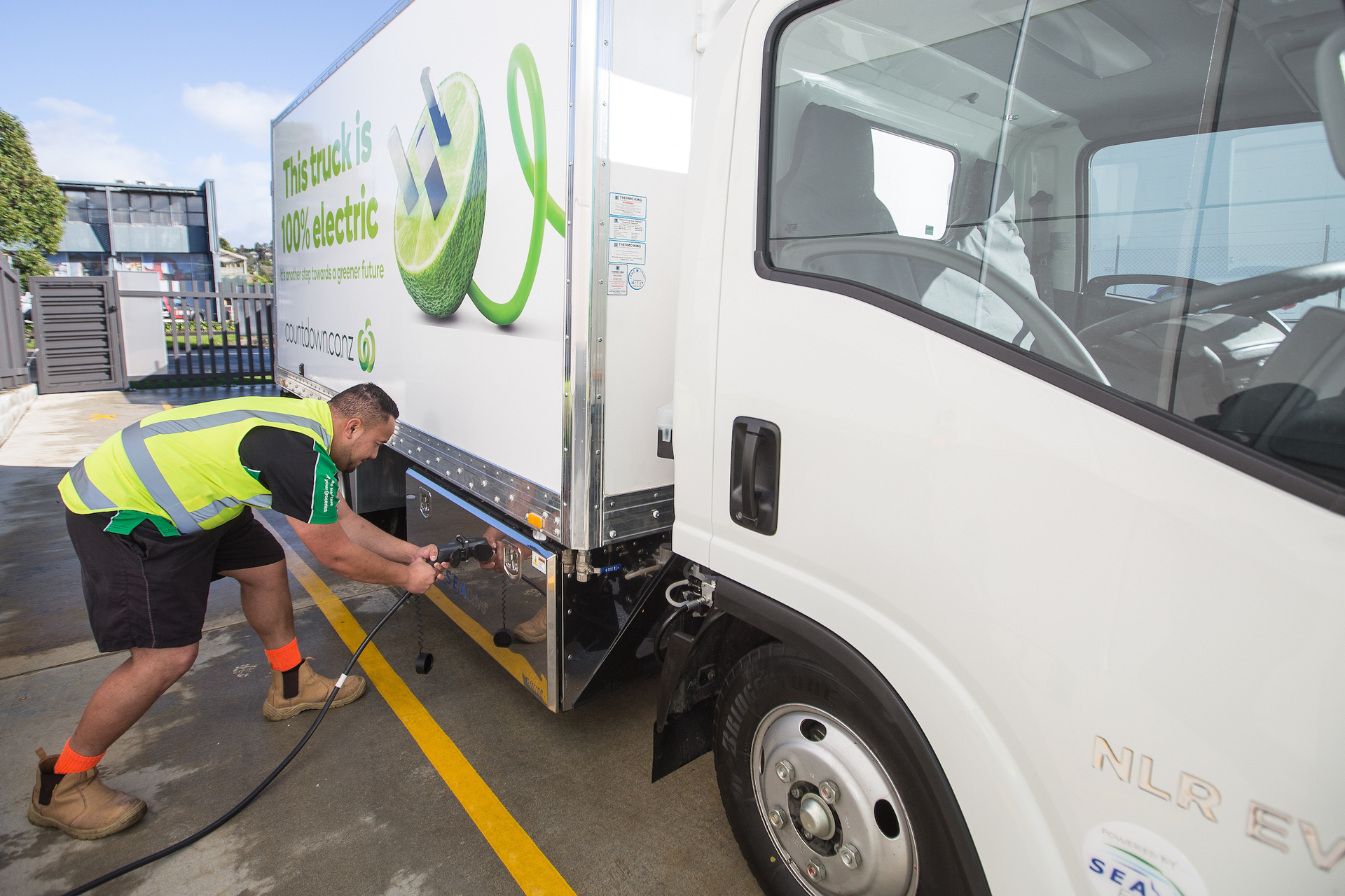 Countdown rolls out fleet of electric delivery trucks
