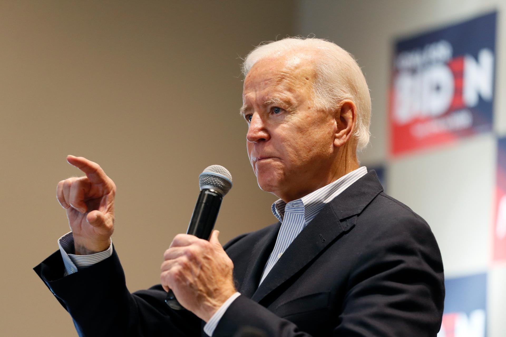 'You're a damn liar': Joe Biden's tense exchange with farmer