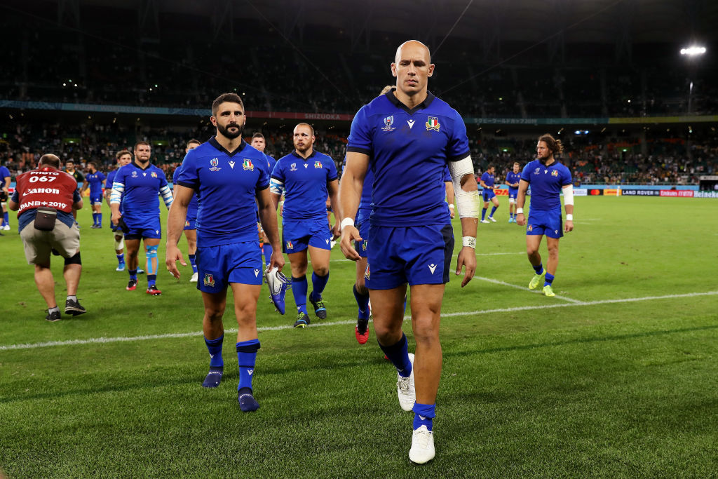 Tears at training: Italy react after All Blacks match cancelled