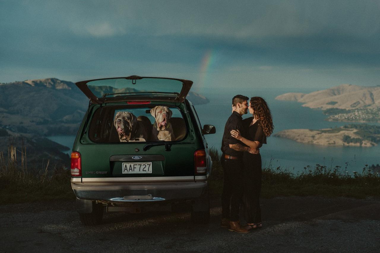 Kiwi wedding photographer Beth Howarth's engagement photo makes for a winning shot